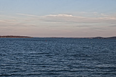 The Blue St.Lawrence River (cjh44) Tags: water river stlawrenceriver lateafternoon portmetcalfe wolfeisland ontario