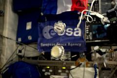Aquapad results (Thomas Pesquet) Tags: aquapad everywear experiments science cnes cadmos