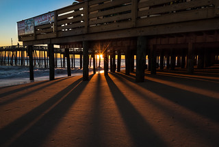 Sunrise shadows
