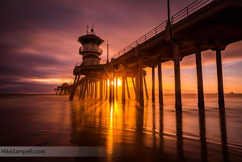 Huntington Beach Pier Slowburn