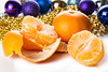 tangerines with Christmas decorations (mikhafff1984) Tags: tangerines purified xmas christmas holiday newyear 2017 decorations balls white table food fruits