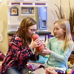 Smelly Bubble Bath (donna_0622) Tags: bubblebath twizzler kids christmas gift sisters nikon d750