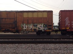 Harsh (Archangel's Thunderbird) Tags: graffiti network d30 freight harsh fs dirty30 benching