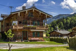 Austria - Jochberg, Traditional house