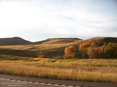 "Fall on Highway 21 (VL Croasdell) Tags: county autumn trees sky fall rural landscapes scenery skies grant country north hills roads prairie dakota northdakotanature northdakotaheaven nd2015contest ""nd2015contest"" mrisar"