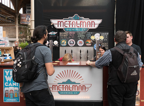 IRISH CRAFT BEER FESTIVAL IN THE RDS LAST WEEKEND IN AUGUST 2015 [METALMAN BREWING COMPANY] REF-107276
