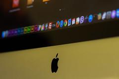 Apple iMac (Tomislav C.) Tags: black macro apple work computer logo mouse office imac desk space working croatia hr macrophotography gopro hero4 primorskogoranskažupanija saršoni pentaxk3 goprohero4blackcamera