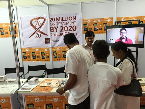 AHF India Mobile HIV App Launch