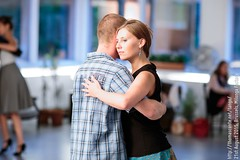 Jolanta and Vincent, Brussels, Milonga Factory, August 2015