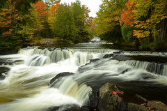 Upper Bond Falls Autumn (Windows to Nature) Tags: autumn fall up john river waterfall nikon shot michigan bondfalls 2015 ontonagoncounty unning d7000 upperbondfalls