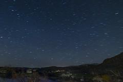 Night - D8D_4257 (Viggo Johansen) Tags: autumn trees lake mountains stars cabin telemark haukeli movingstars vgsli