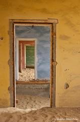 IMGP3746 Door and door and door ! (Claudio e Lucia Images around the world) Tags: kolmanskuppe namibia diamondghosttown diamanti cittàfantasma deserto doors walls coloredwalls opendoors nodoors