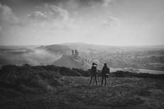photographer in the landscape2 (stocks photography.) Tags: landscape photographer stocks dorset corfecastle stocksphotography michaelmarsh canon5dsr