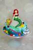 Little Mermaid Cake (toertlifee) Tags: törtlifee geburtstagstorte birthdaycake geburtstag kinder kids cake torte happybirthday mermaid ariellediemeerjungfrau