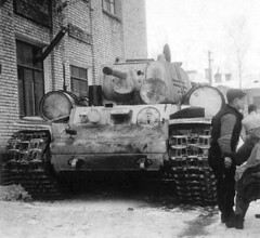 "KV-1 ""Strolch"" of the 58th Infantry Division around Leningrad"