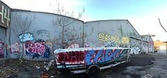 IMG_5493 (Hypurban) Tags: nyc newyork abandoned brooklyn graffiti head warehouse wax smells abandonedwarehouse brooklyngraffiti waxhead graffitiyard cash4