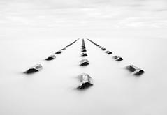 Infinity (petefoto) Tags: foggy breakwater newbrighton seadefence mirky leefilters bwfilters nikond810