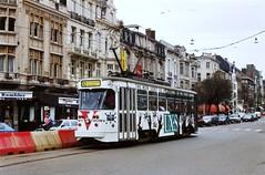6244 12 (brossel 8260) Tags: belgique tram gent gand delijn mivg
