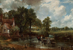 The Hay Wain - John Constable (AnthonyR2010) Tags: london painting landscape suffolk artist gallery nationalgallery constable flatford johnconstable haywain nexus5x