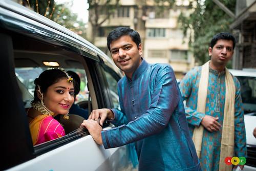 Kanan with her brother Rahul