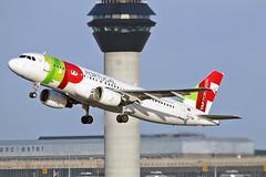 """CS-TQD Airbus A.320-214 TAP Air Portugal MAN 20-12-15 (PlanecrazyUK) Tags: man manchester ringway egcc tapairportugal airport"""" airbusa320214 cstqd """"manchester 201215"""