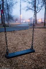 Game time (alex.bernard) Tags: park canada fog canon swing québec tamron parc brouillard brume balançoire montsainthilaire tamron2470 canon5diii balçoireàbascule