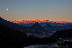 Alba rosa (alberto.cristofolini) Tags: morning winter alba dolomites brenta daybreak alpenglow lagorai enrosadira panarotta
