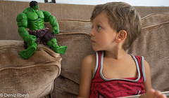 "talking to Hulk • <a style=""font-size:0.8em;"" href=""http://www.flickr.com/photos/136107982@N06/24048326462/"" target=""_blank"">View on Flickr</a>"