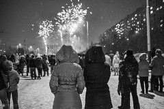 New year celebration (Katas-cz) Tags: street new winter people children happy nikon child fireworks year joy streetphotography celebration d750 streetphoto ostrava 2016 ohnostroj