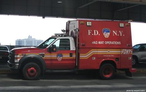 New York City NY Fire Dept HazMat Operations - Ford F450 (3)