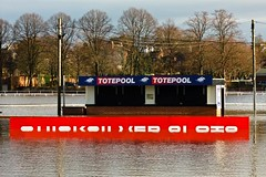 Totepool (Macro light) Tags: winter worcestershire betting floods worcester pitchcroft worcesterracecourse totepool