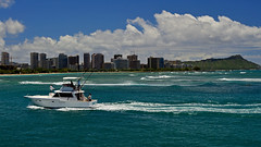 Panic Room! (jcc55883) Tags: panics pointpanic kakaakowaterfrontpark kakaako hawaii oahu honolulu diamondhead ocean pacificocean sea sky clouds boat skyline shoreline nikon nikond3200 d3200