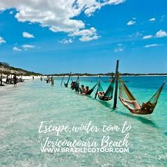 jericoacoara beach (brazilecotour) Tags: jericoacoara beachlencois maranhenses jericoacoarahotels tours hollidays trips journe journey tourisme jericaocara beach