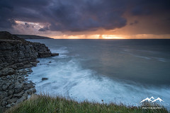 (Joaquim Pinho Photography) Tags: dorset uk england joaquim pinho photography portuguese portugues paisagem landscape sea water storm sky nikon benro ray masters south outdoors