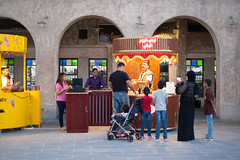 Ice Cream Vendor (LensReady) Tags: vendor icecream public selling business skills kids family color nightphotography streetphotography people story buying turkish