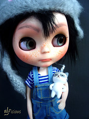Monday (ELFicious) Tags: ooak custom blythe doll elficious monday