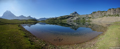 Panorama Lac Roumassot (Maxime Gury) Tags: lac roumassot lacs ayous valle ossau barn artigues pic reflets montagne water eau montain pyrnes randonn