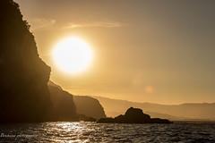 Coucher de soleil  Cabo Negro - Ttouan (Bouhsina Photography) Tags: sunset cabo negro cabonegro ttouan maroc morocco t 2016 bouhsina bouhsinaphotogrphy canon 7dii ef2470 eau mer mditerrane montagne rocher sun soleil