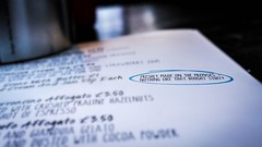 St Ives (Mark Dickens) Tags: stives piercoffeebar homemade menu