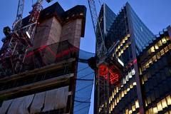 2016-09-25: Sunday Construction (psyxjaw) Tags: london londonist city cityoflondon scapel building construction limestreet