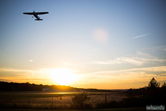 DSC_3292 (missamagnificent) Tags: airplane airport princeton new jersey fcf2016 fcf16 golden hour sunset sunsets outside landscape outdoors flying fly freedom sky outdoor nikon d610 50mm 18g