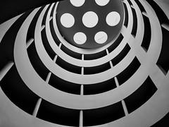 parking ramp (heinzkren) Tags: parkhaus parkingramp carpark vienna wien auffahrt rampe garage parkgarage lichtkuppel spirale stairs linescurves