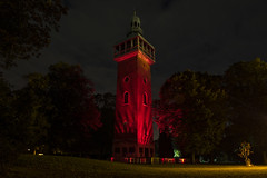 Carillon (Yardbrush) Tags: loughborough queenspark carilion loveloughborough night lights park