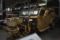 Navistar Defence Husky PSV (Bri_J) Tags: iwmduxford cambridgeshire uk iwm duxford airmuseum aviationmuseum museum imperialwarmuseum nikon d7200 husky armouredvehicle britisharmy protectedsupportvehicle