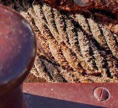 Lake Garda & Torbole (jimj0will) Tags: torbole lakegarda lake lagodigarda lago italia italy water trento texture rope capstan boat ferry