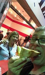 NYCC 2016 46 Back at 2Bros Pizza (Cosmic Times) Tags: nycc nycc2016 cosmic times martin pierro heidi hess 2bros pizza