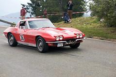 Chevrolet Corvette Sting Ray Coup (1963) (PWeigand) Tags: 2015 bayern berchtesgaden chevroletcorvettestingraycoup1963 edelweissclassic oldtimer rosfeldrennen deutschland
