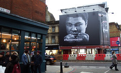 Remember Ali (Lord Eglinton) Tags: england london street face cassius clay mohammad ali east end shoreditch brick lane