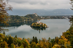 Lake Bled-1-27 (Michael Yule - I Can See For Miles) Tags: lake bled slovenia europe october autumn landscape trees water scenery mountains nikon d7100