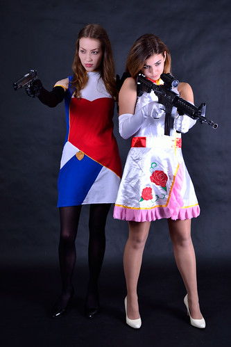 Brianna and Skye Cosplay Photoshoot